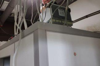 сборка холодильной камеры из панелей